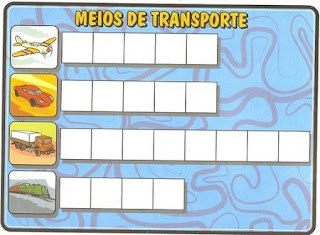 Bingo meios de transportes