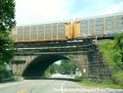 The Historic Rockville Bridge Underpass in Harrisburg Pennsylvania