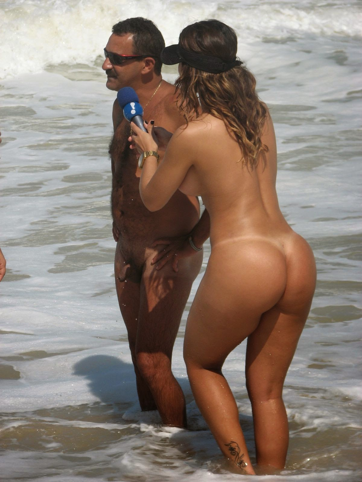Brazilian nude beach
