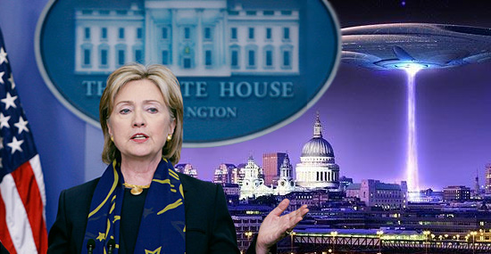 Alienígenas já devem ter visitado a Terra, diz Hillary Clinton