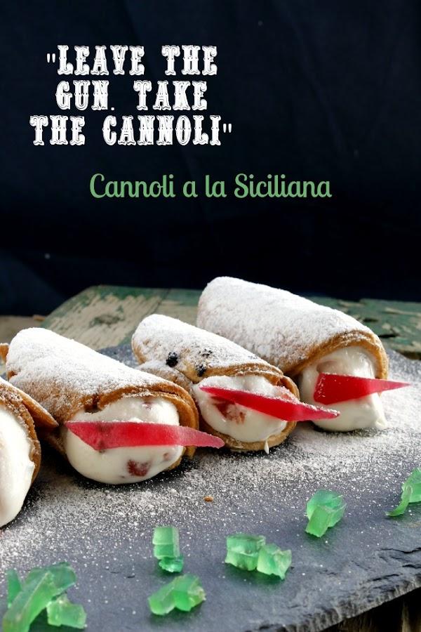 cannoli a la siciliana