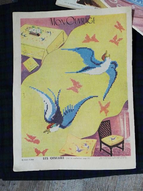 "magazine ""mon ouvrage"" 1950"