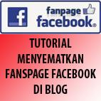 Tutorial Membuat Fanspage FB di Blog
