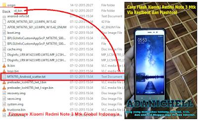 Firmware Xiaomi Redmi Note 3 Mtk Global Indonesia