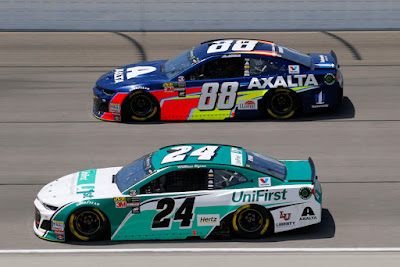 Alex Bowman Leads Hendrick Teammates with Top-Ten Finish At Chicagoland #NASCAR