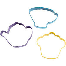 Tea inspired cookie cutters for your Girl Scout tea party