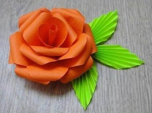 Make Rose Flower from Paper