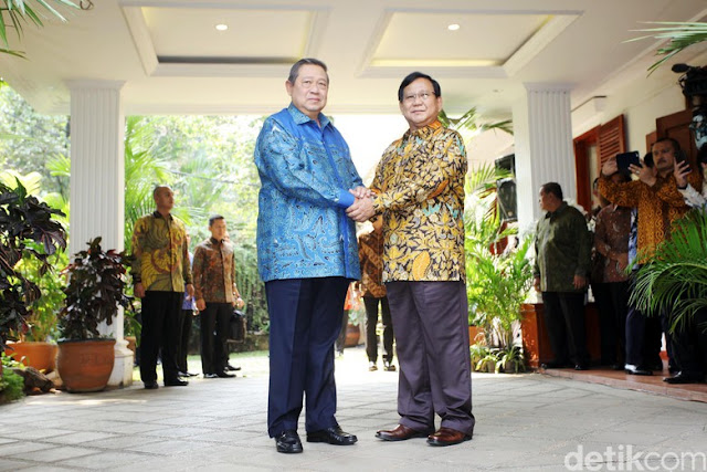 SBY Serahkan Penentuan Cawapres ke Prabowo
