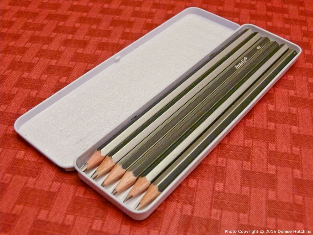 Pentalic 6 Drawing Pencil Set