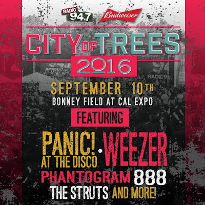 Next weekend: City of Trees!!!