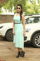 Manjusha in beautiful thin green gown At Jaya Janaki Nayaka le Logo Launch ~  Exclusive 117.JPG