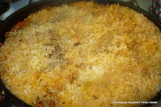 готовить пилав до мягкости риса