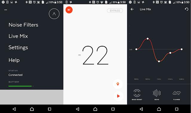 Doppler Labs Here One app