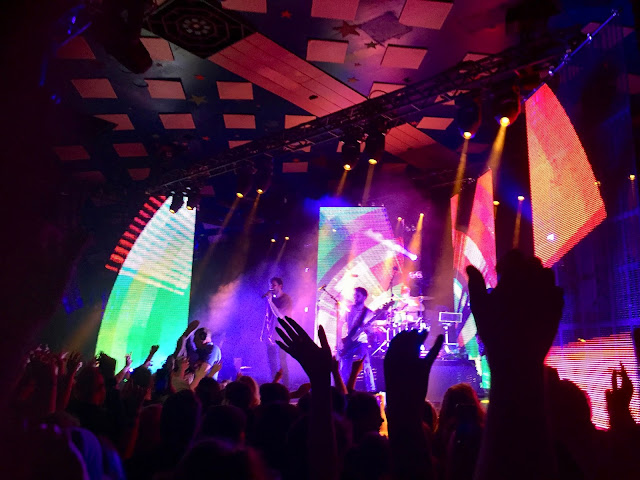 You Me At Six performing at the Glasgow Barrowlands - VI tour