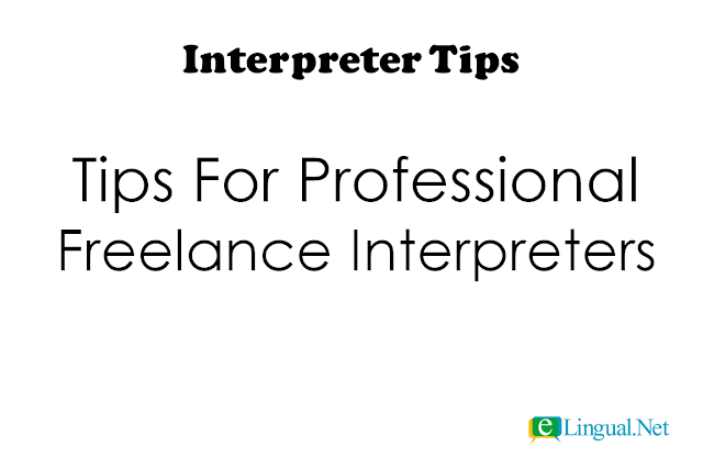 Spread The Word Blog: Interpreter TIps
