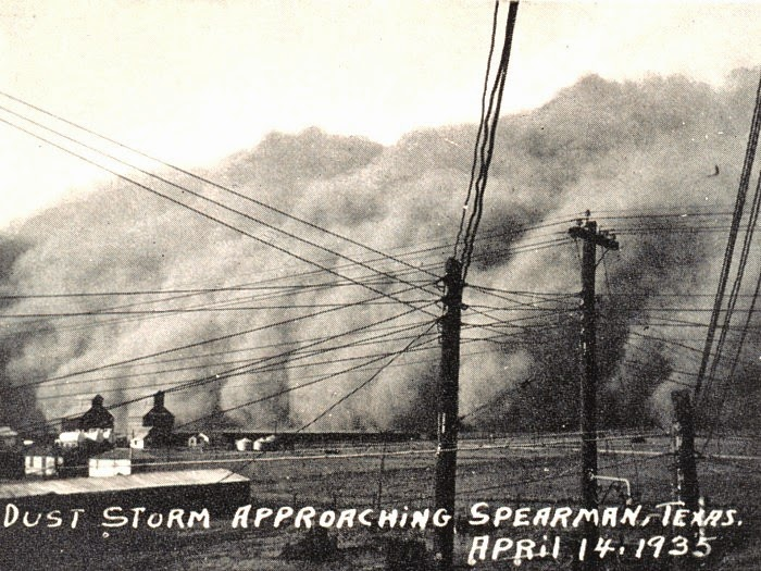 Dust storm on Black Sunday