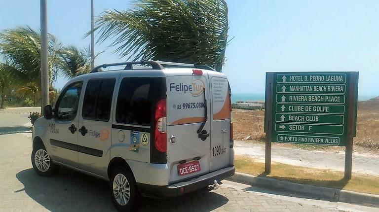 Translado do aeroporto de Fortaleza Para O Beach Park