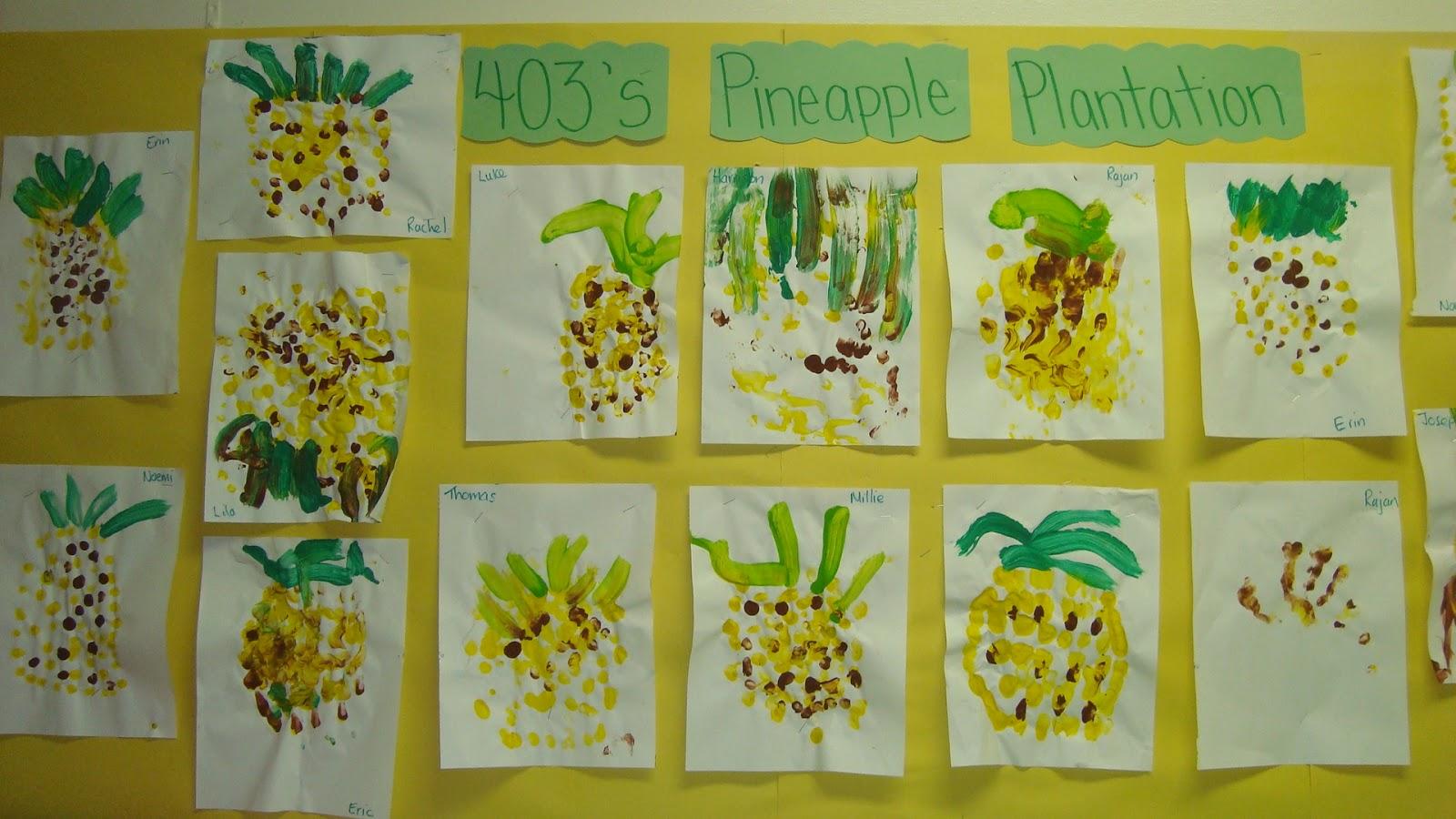 Hawaiian Preschool Activities