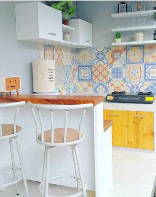 Desain Dapur Minimalis Ukuran 3x3 Terbaru gambar2