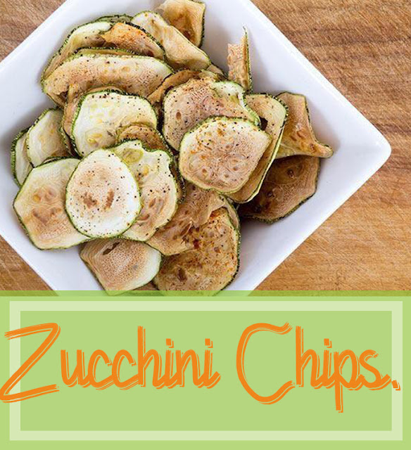 Zucchini Chips For Kids