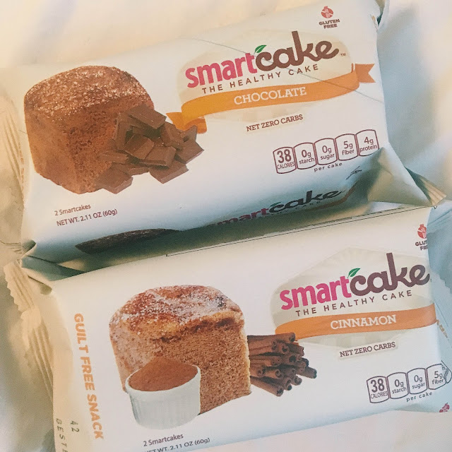 Low calorie snack cake
