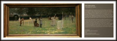 The tennisparty - John Lavery