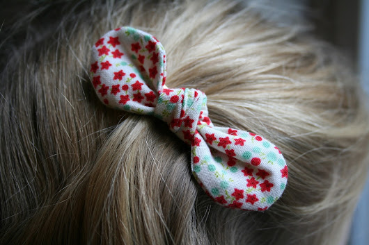 Last Minute Presents - Hair Bows