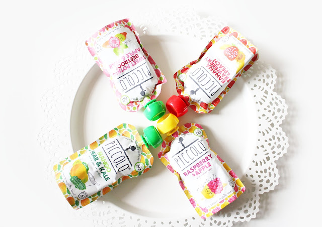 new flavour piccolo fruit and veg food pouches for babies natural and organic