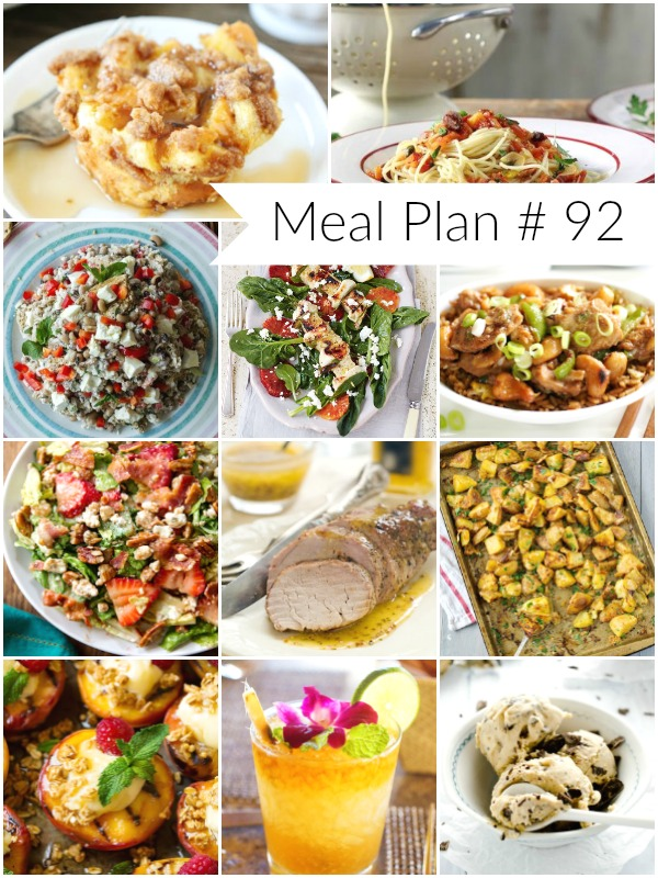 Meal Plan # 92 - Ioanna's Notebook