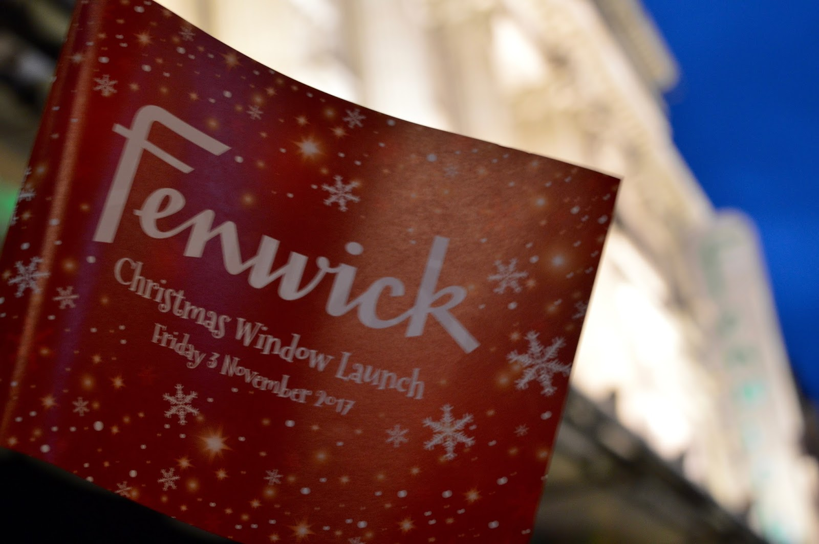 Fenwick's Window 2017 - It's Paddington Bear themed! - fenwick flag