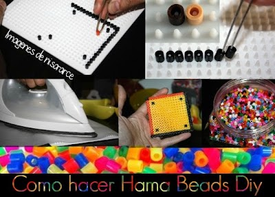 Como hacer Hama Beads o Pearls Beads
