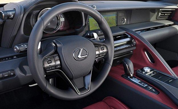 2018 Lexus LC 500 0-60