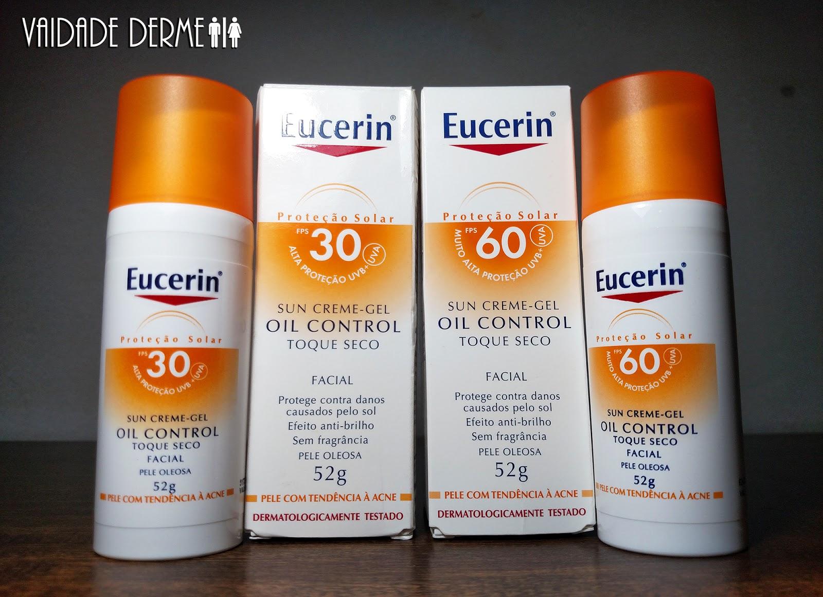 Eucerin Sun Creme Gel Oil Control