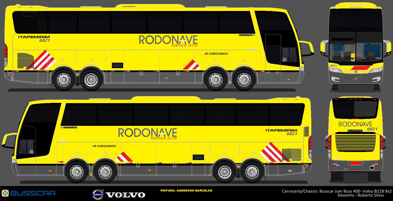 Busscar Jum Buss 400 Itapemirim Desenho Onibus Brasil