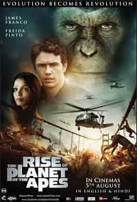 Rise of the Planet of the Apes (2011) Hindi - Tamil - Telugu - Eng Download 400mb BDRip
