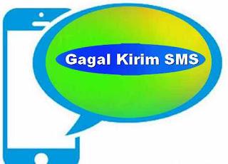 gagal kirim SMS hp SAMSUNG