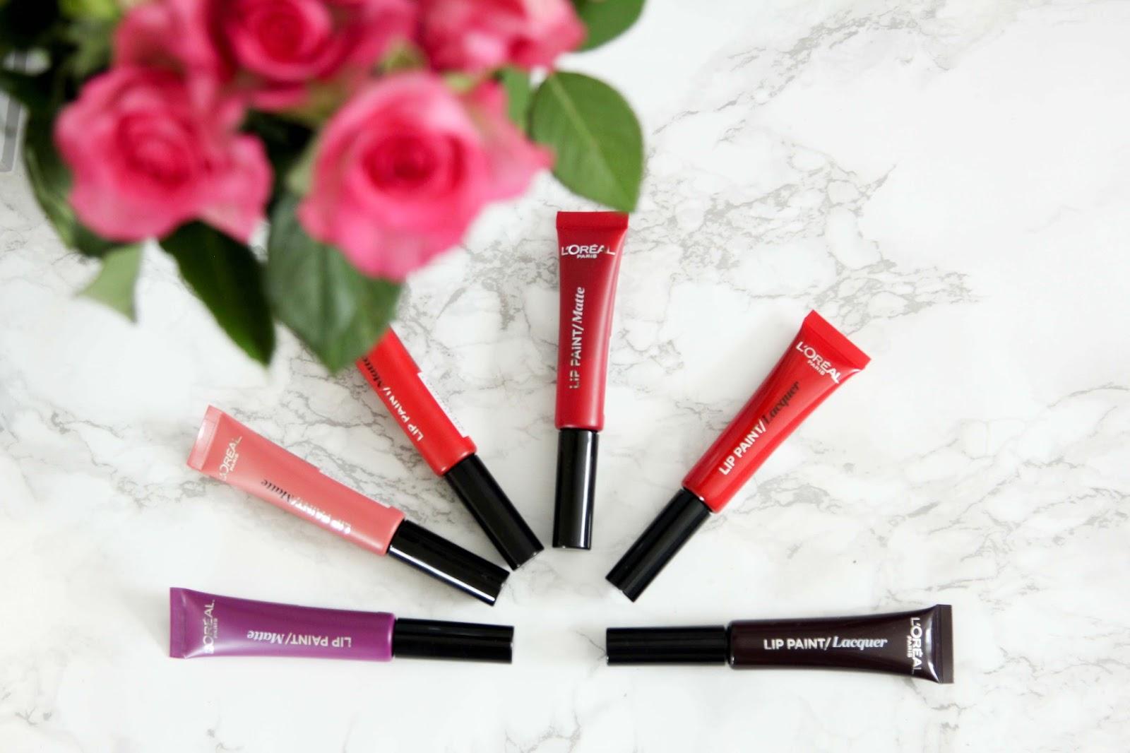 Die Lip Paint Lacquer (glänzend) und die Lip Paint Matte (matt) von L'Oréal Paris -Produkt-Test-Lippenstift-Blogger-Lippenstift- Lip Paint Matte von L'Oréal Paris