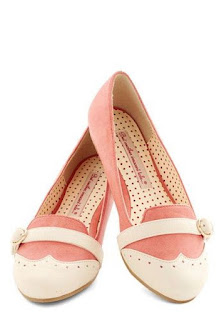 Model sepatu flat Pinklicious
