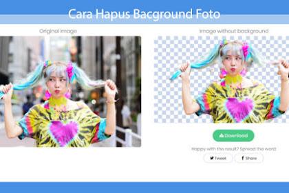Cara Menghapus Background Foto Online Tanpa Aplikasi
