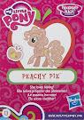 My Little Pony Wave 14 Peachy Pie Blind Bag Card