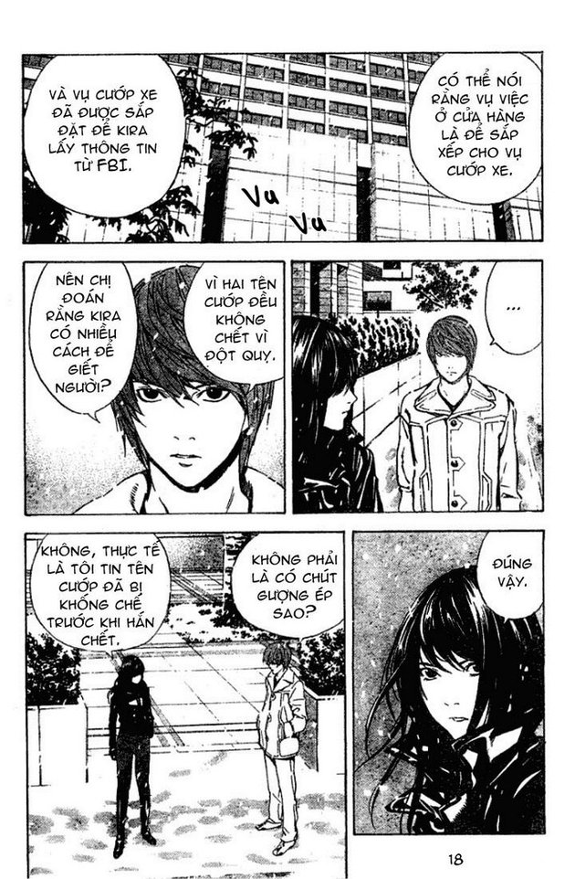 Death Note chapter 012 trang 19