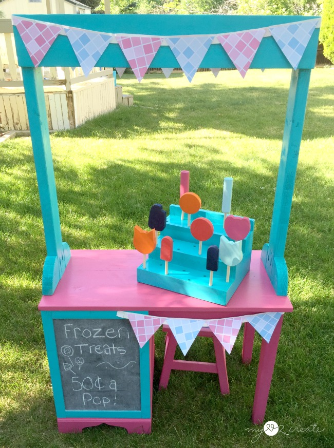 Frozen Treat Stand Tutorial, MyLove2Create