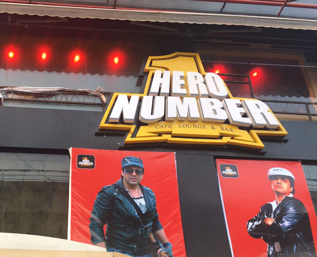 Photos: Govinda at his 'Hero No.1' Restaurant Launch In Delhi