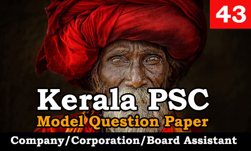 Model Question Paper Company Corporation Board Assistant - 43