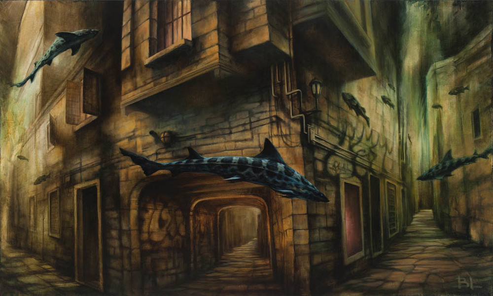 03-Deep-Streets-Brin-Levinson-Paintings-of-Nature-Reclaiming-Cities-www-designstack-co