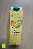 Erfahrungsbericht: Grünland Bio Orangensaft, 8er Pack (8 x 1 l)