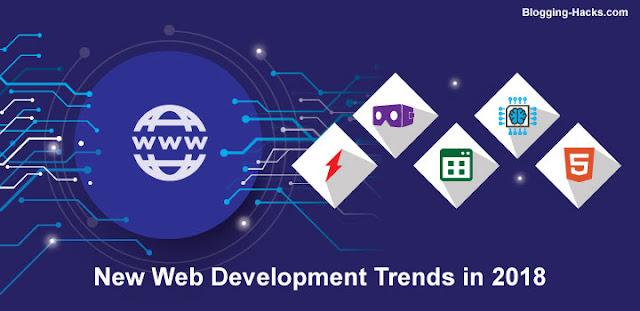 New web development trends in 2018