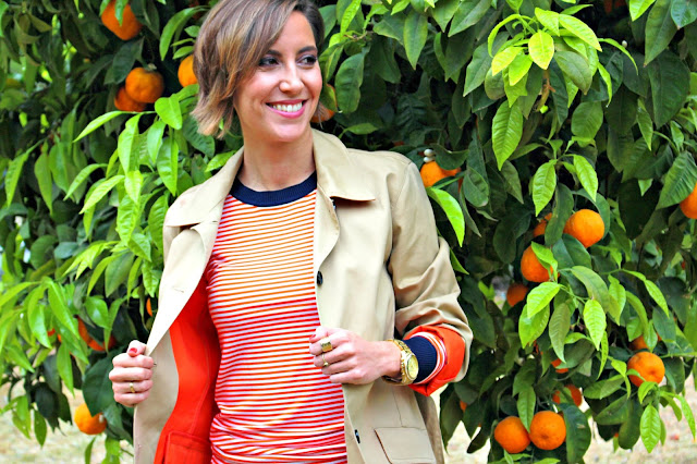 Fitness And Chicness-Orange Stripes-3
