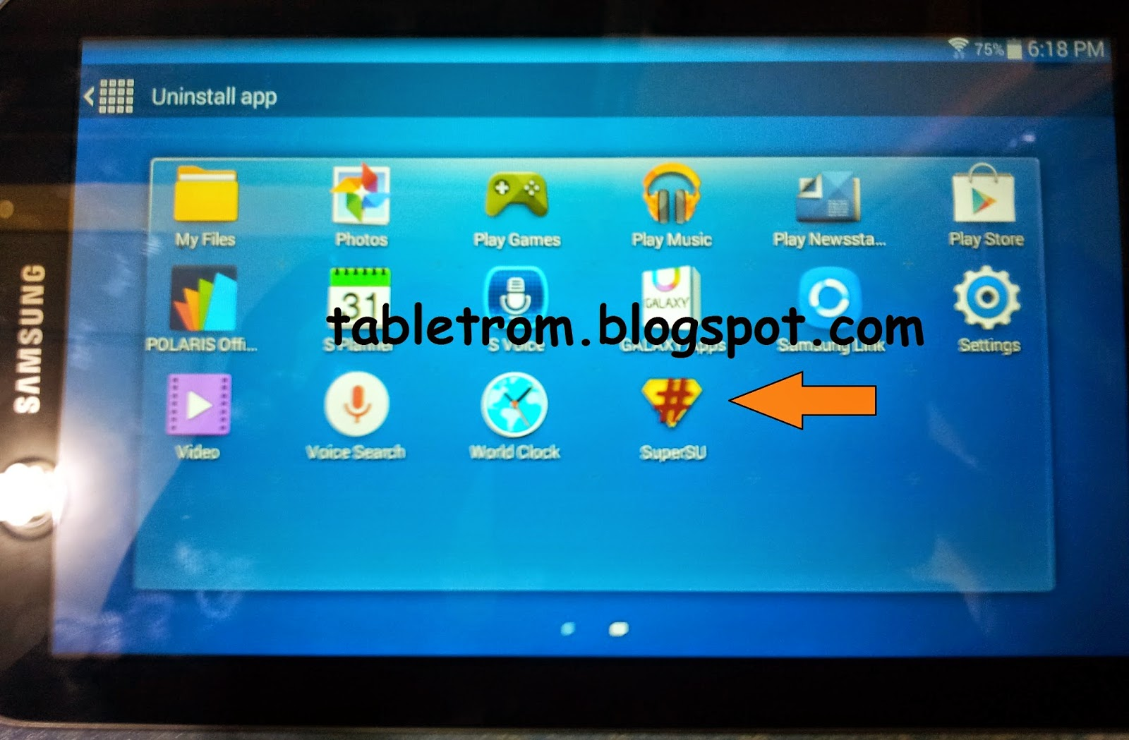 how to root Samsung tablet and smartphones.