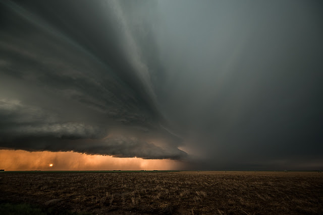 Supercell over Kansas
